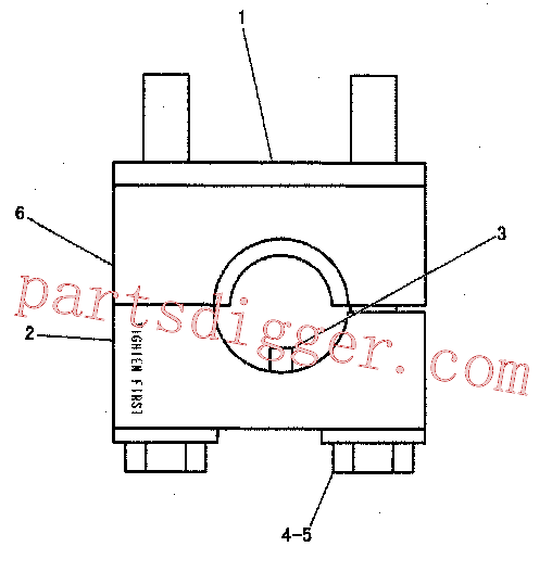 CAT 8T-0657 for 797 Truck(OHT) undercarriage 233-4847 Assembly
