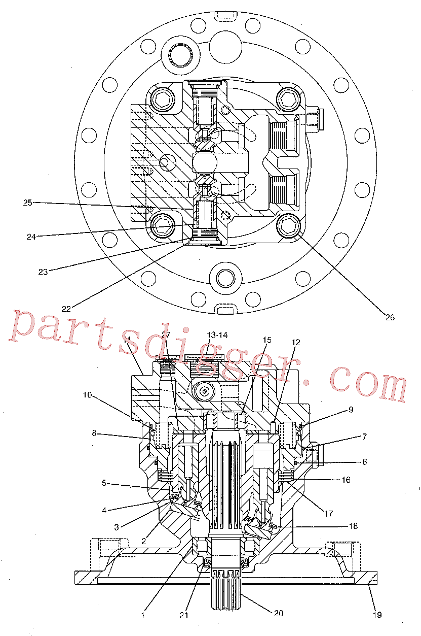 CAT 173-3447 for 323D2 L Excavator(EXC) hydraulic system 191-5542 Assembly