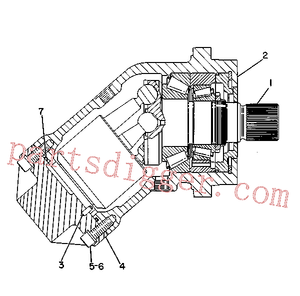 CAT 9T-2559 for D6N XL Track Type Tractor(TTT) hydraulic system 9T-0670 Assembly