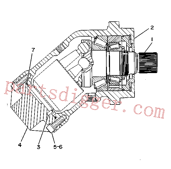 CAT 9T-1687 for D11R Track Type Tractor(TTT) hydraulic system 9T-1062 Assembly