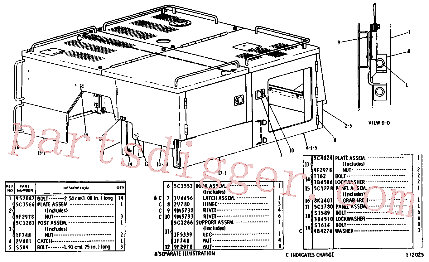 CAT 3B-4605 for 931 Track Loader(TTL) chassis and undercarriage 5C-3555 Assembly