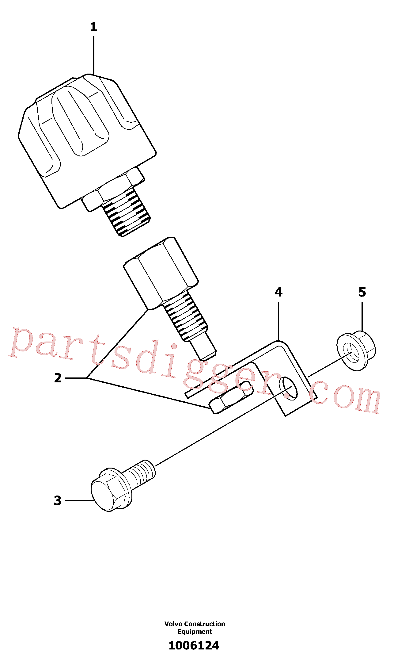 PJ6050123 for Volvo Breather(1006124 assembly)