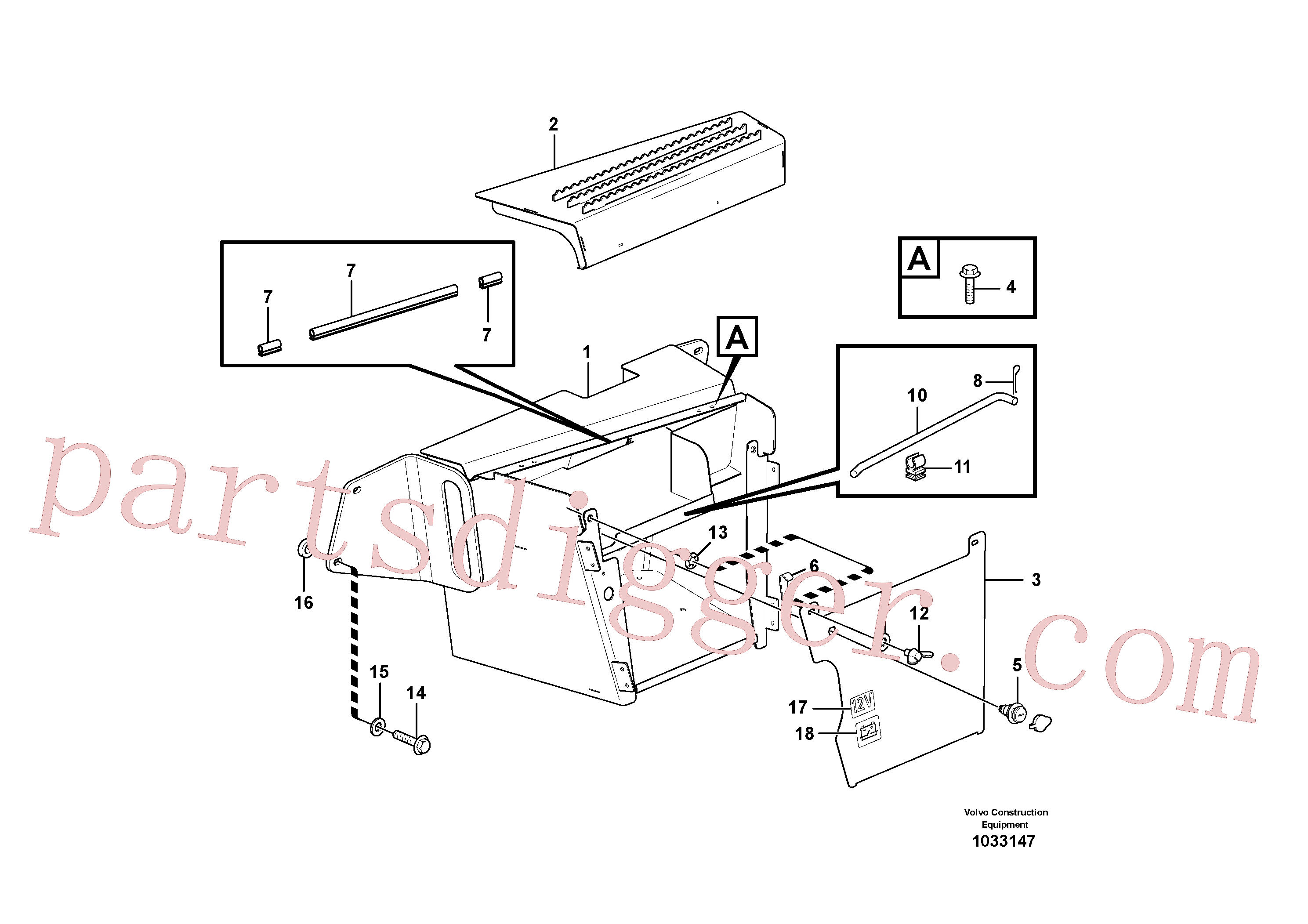 RM96724968 for Volvo Toolbox(1033147 assembly)