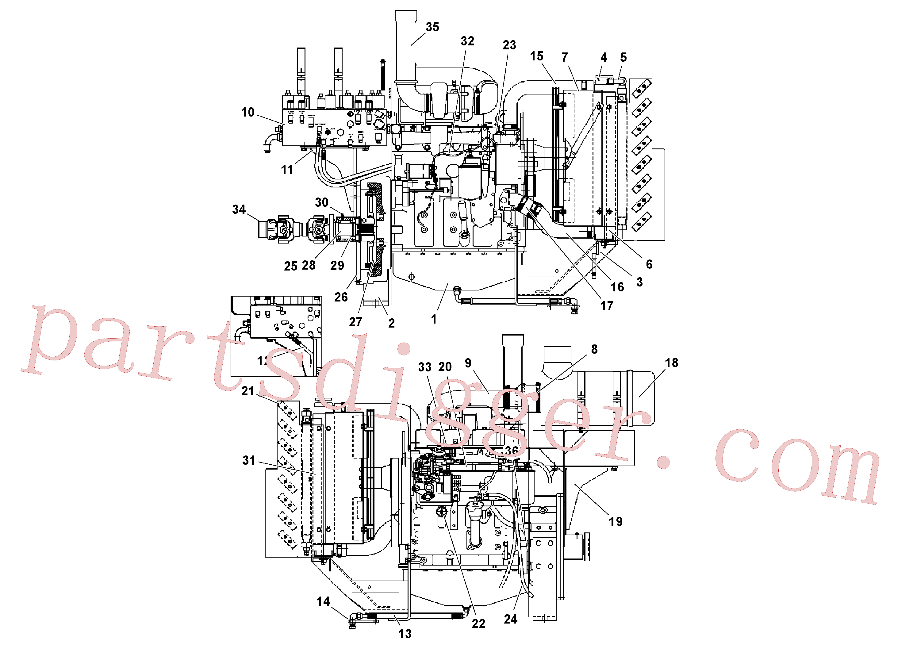 RM13811443 for Volvo Cummins Engine Assembly(1039162 assembly)