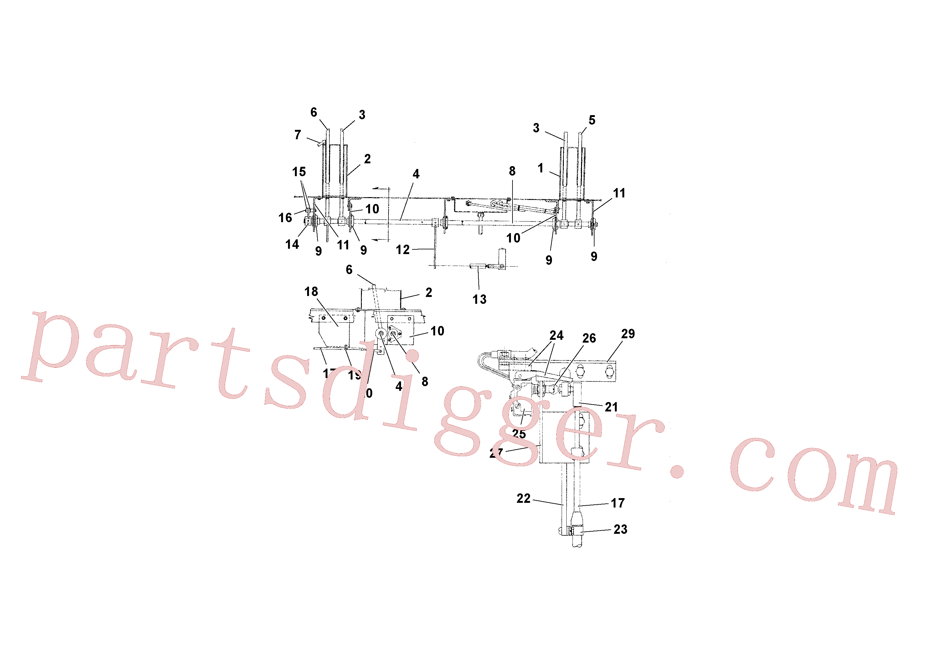 RM20932927 for Volvo Travel and Conveyor Controls(1039296 assembly)