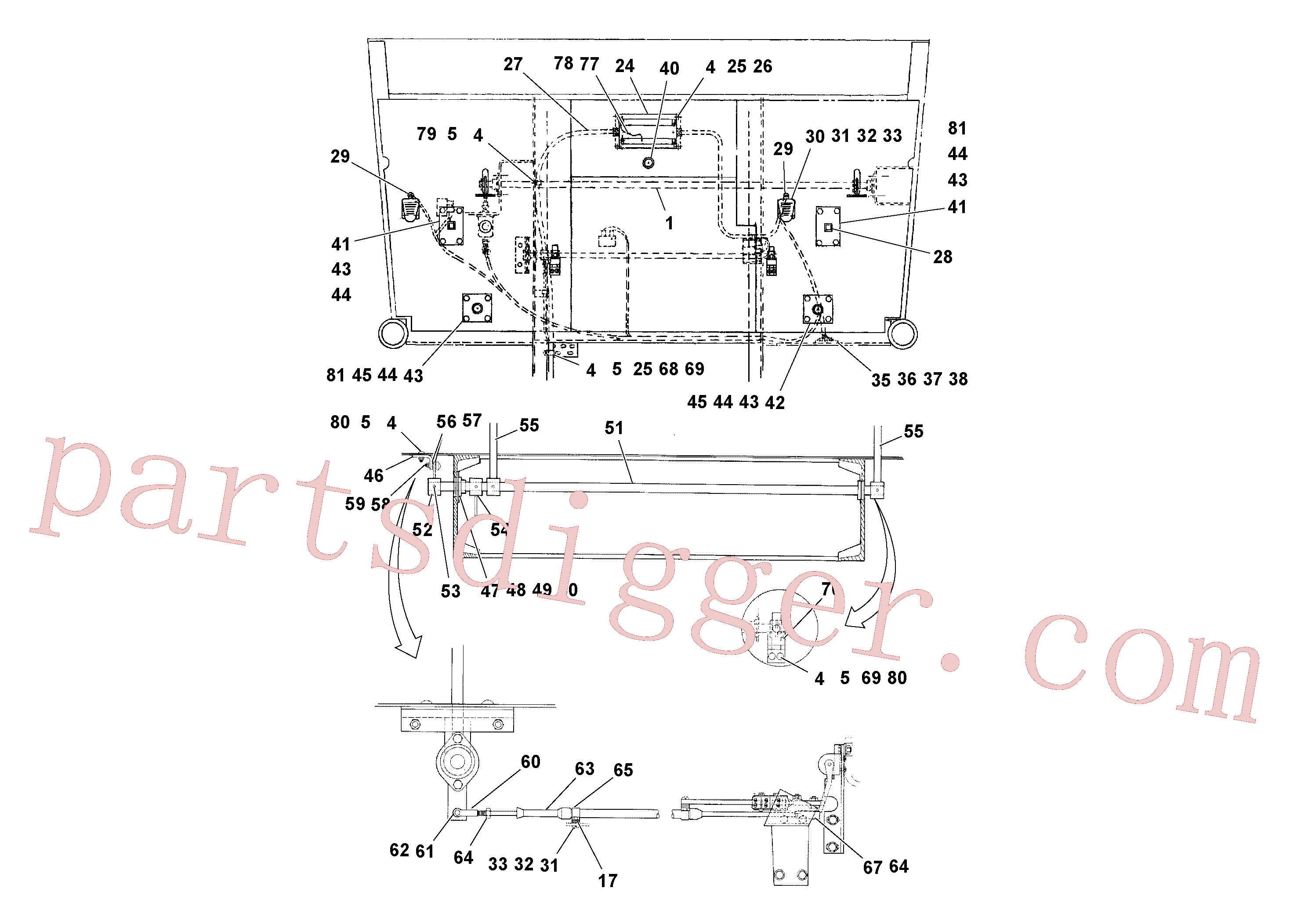 RM20932927 for Volvo Control Installation(1040059 assembly)