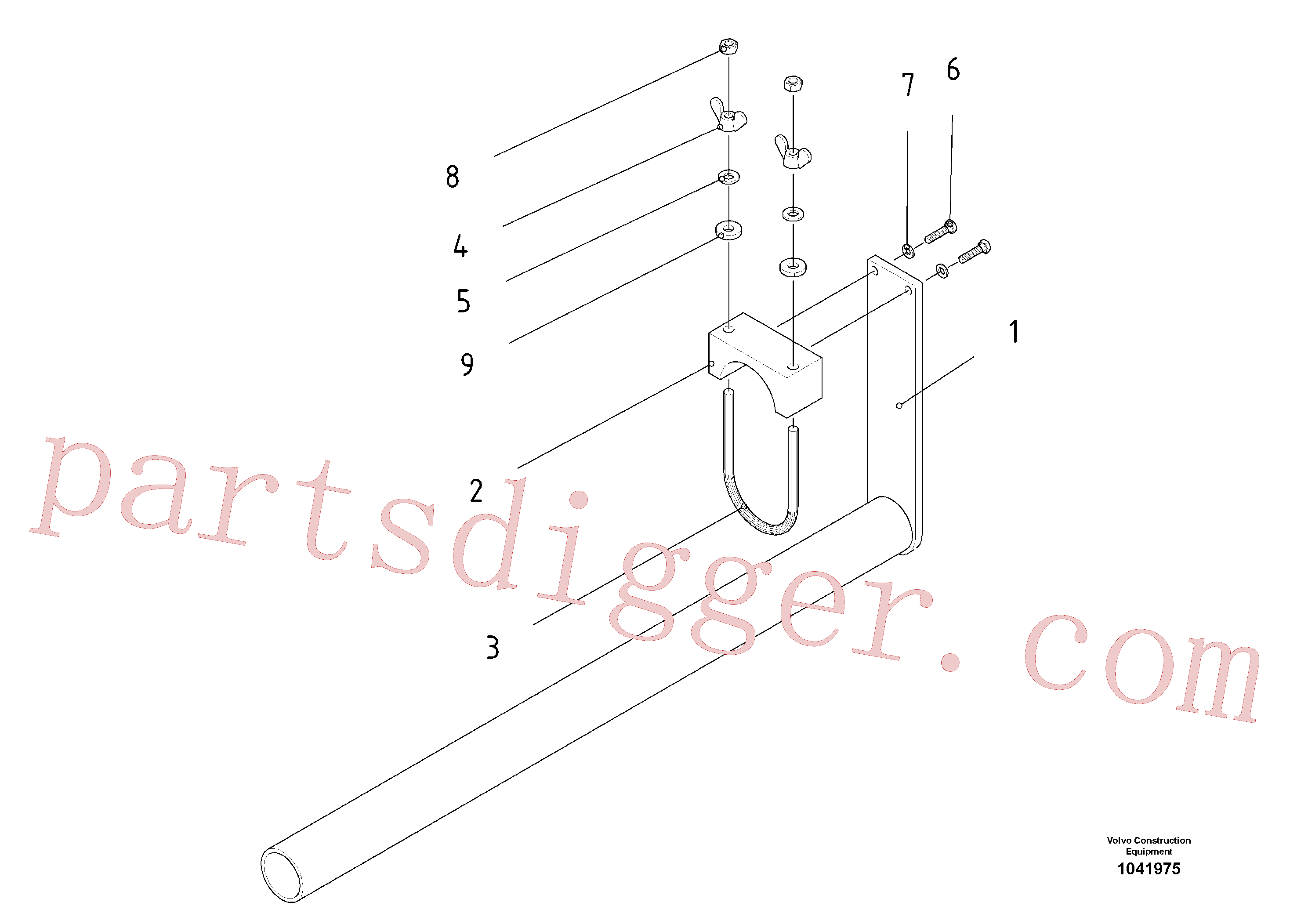 RM96714258 for Volvo Tool holder(1041975 assembly)