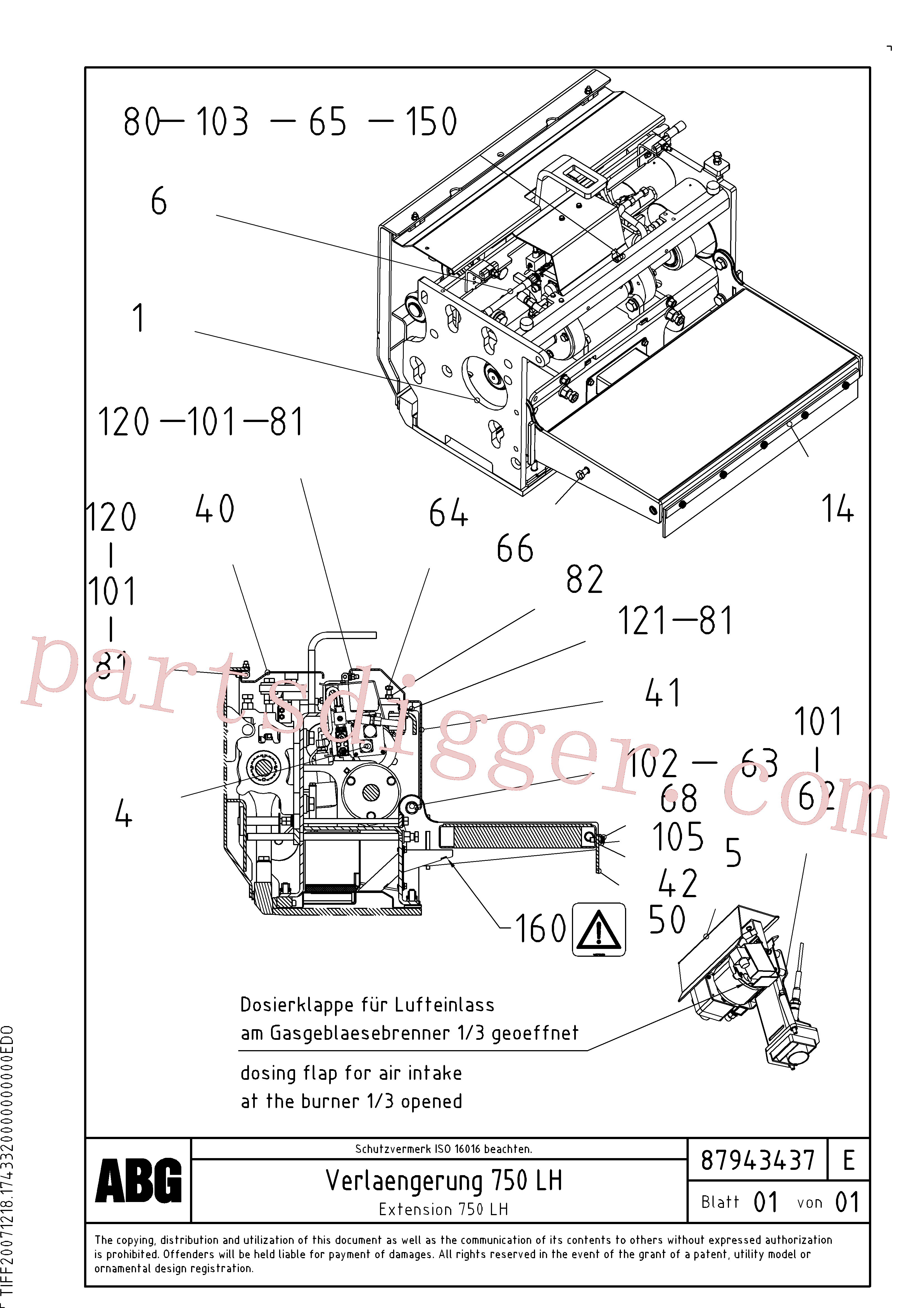 RM80734312 for Volvo Extension set(1047981 assembly)