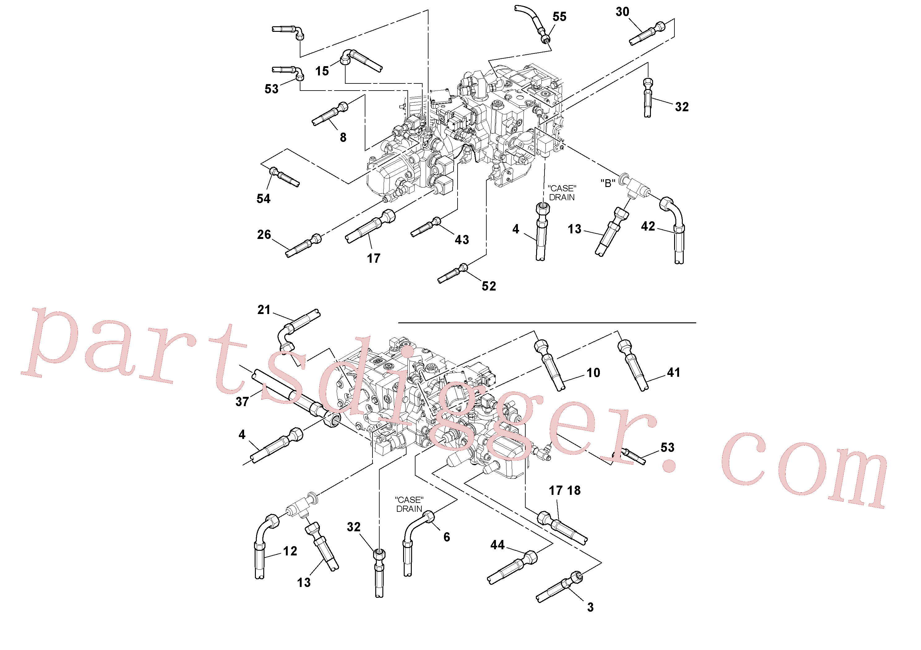 RM13207774 for Volvo Hoses Installation(1048984 assembly)