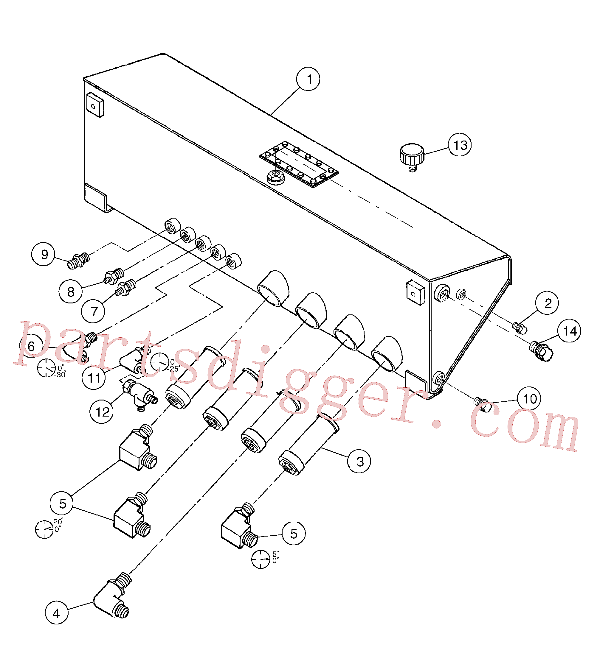 RM95329983 for Volvo Hydraulic Tank Assembly(1055866 assembly)
