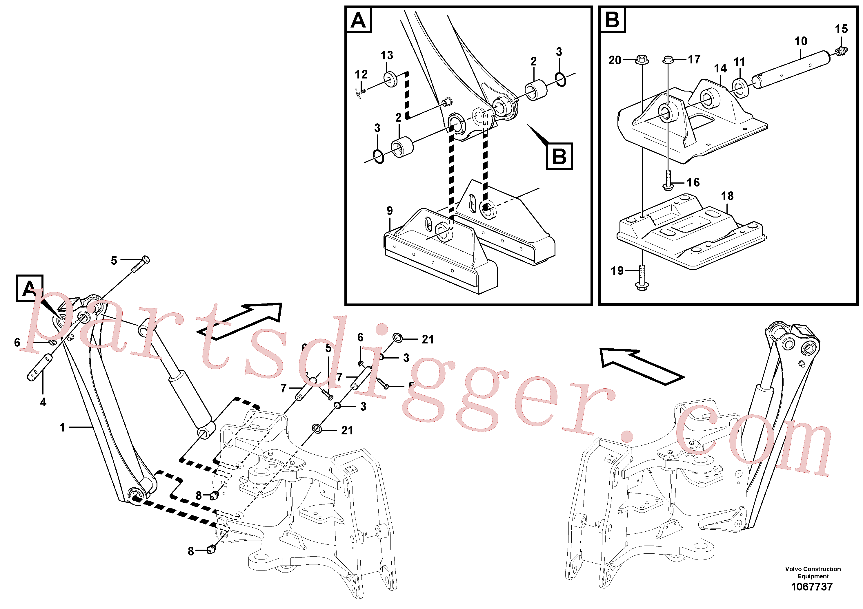 RM14084990 for Volvo Stabilisers(1067737 assembly)