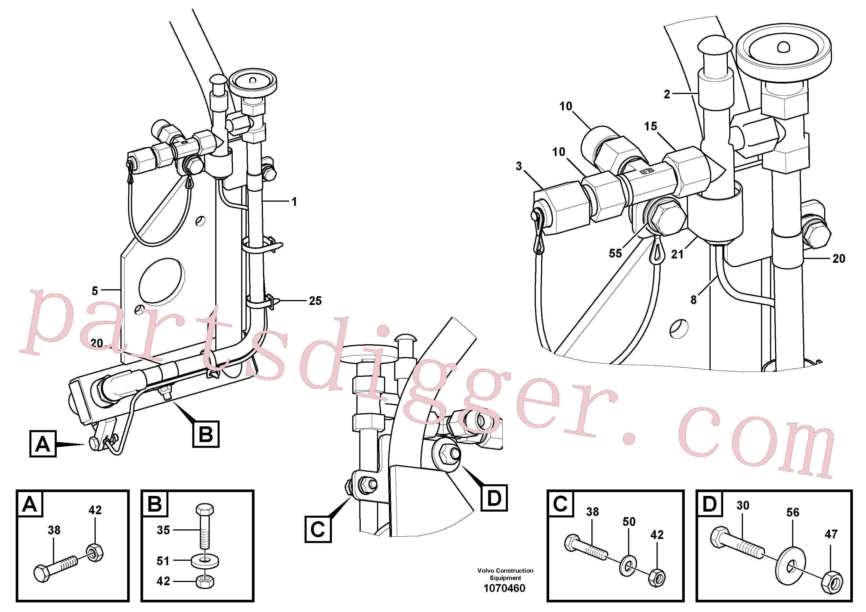 RM14141097 for Volvo Gas burner for extension(1070460 assembly)