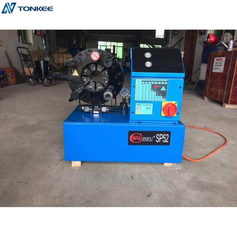 SP52 hydraulic hose cripmer machine