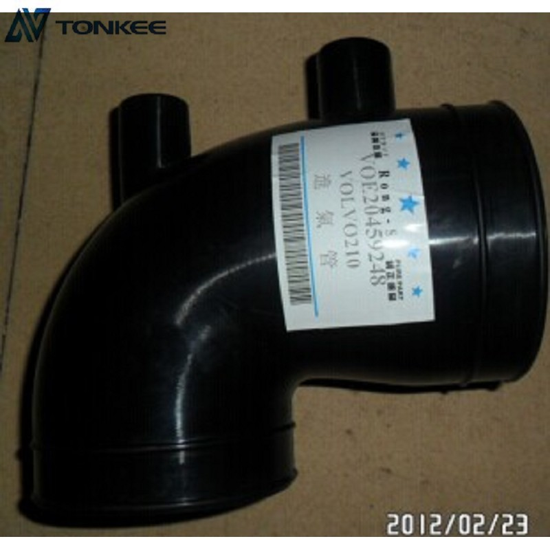 20459248 Air intake pipe VOE20459248 Air tube VOLVO Engine spare parts for EC210B