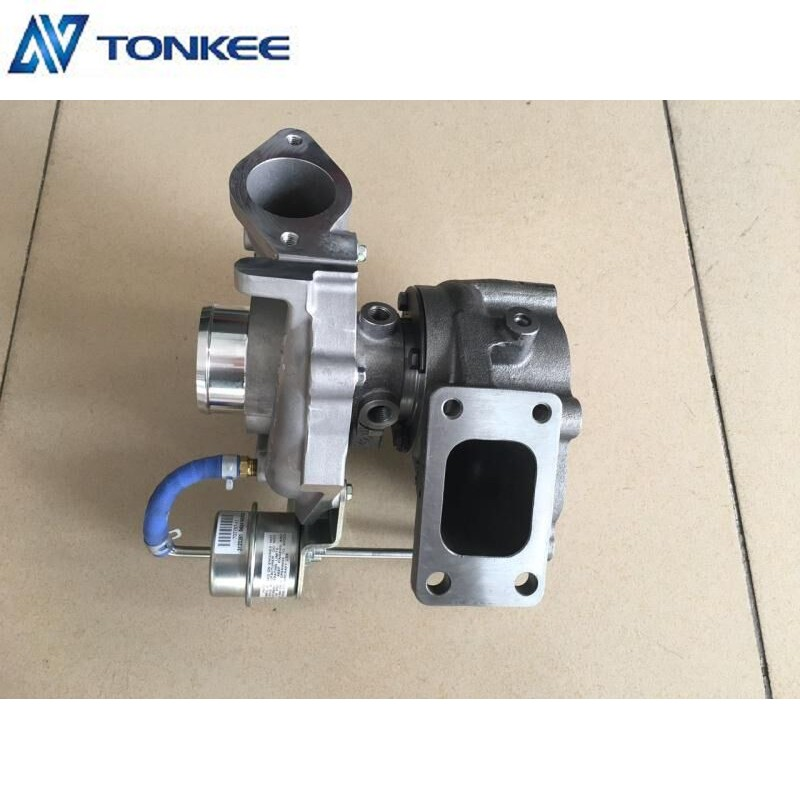 CARRETT Genuine Turbo JO5E Engine Turbo 787873-5001S GT2259LS Turbocharger for KOBELCO SK200-8 Excavator