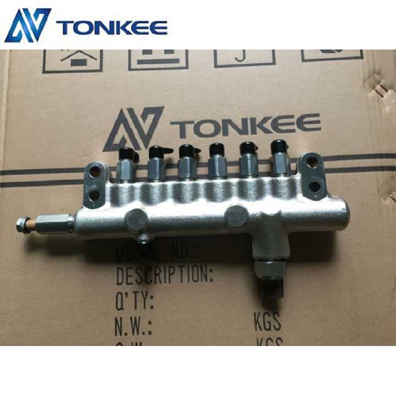 6HK1 Diesel engine common rail assy 6HK1 fuel common rail 8-98152950-2 fuel rail DENSO Made in japan