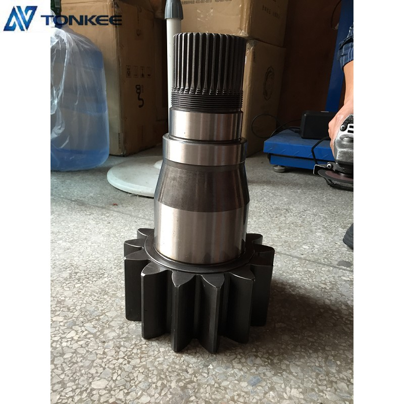 JS220 LC swing gearbox shaft JS220 swing vertical shaft for JCB excavator spare parts
