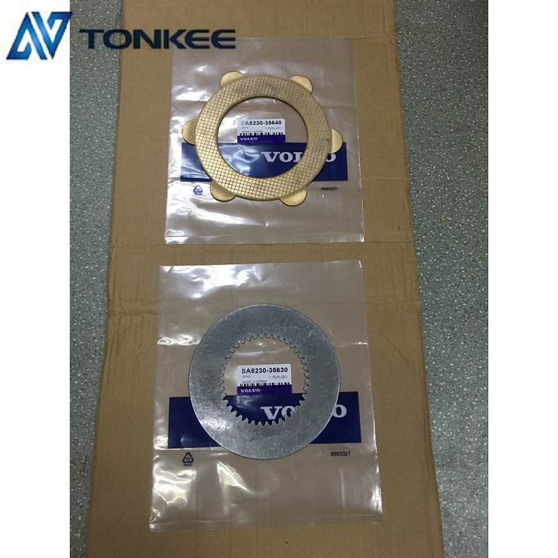 SA8230-35640 Fraction Disc EC460B friction copper plate VOLVO 460B Travel friction steel plate Made In Korea