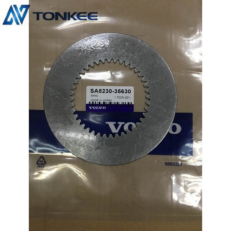 SA8230-35640 Fraction Disc, EC460B friction copper plate, VOLVO 460B Travel friction steel plate