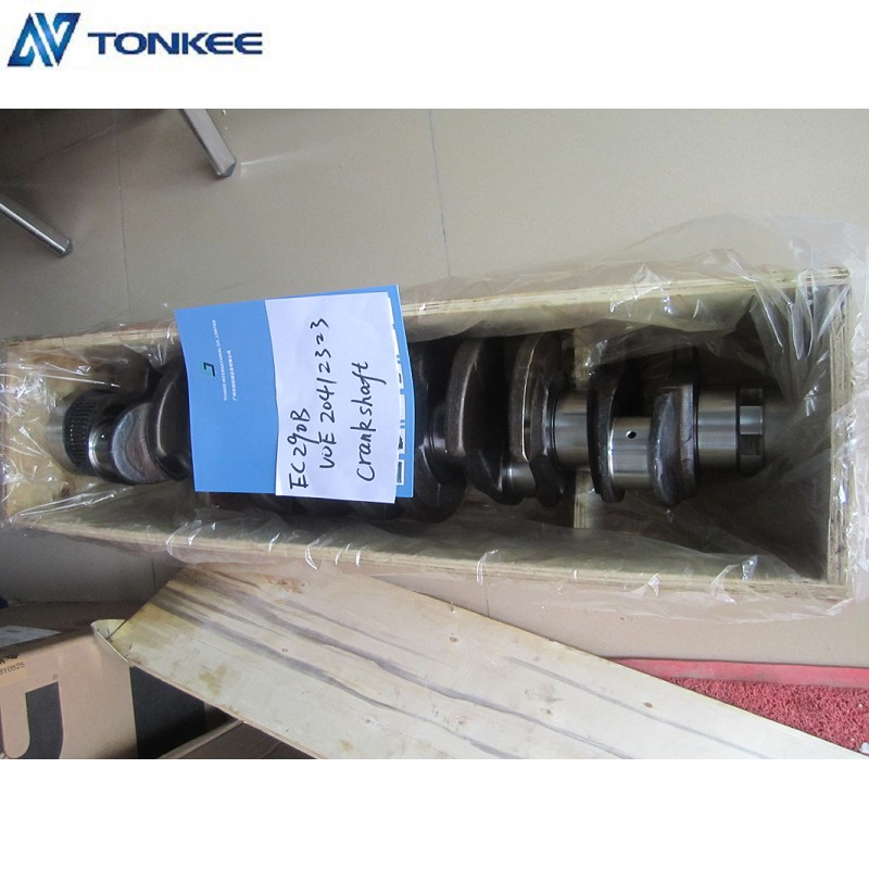 DEUTZ D7D CRANKSHAFT VOE 20412323 FOR VOLVO EC290B