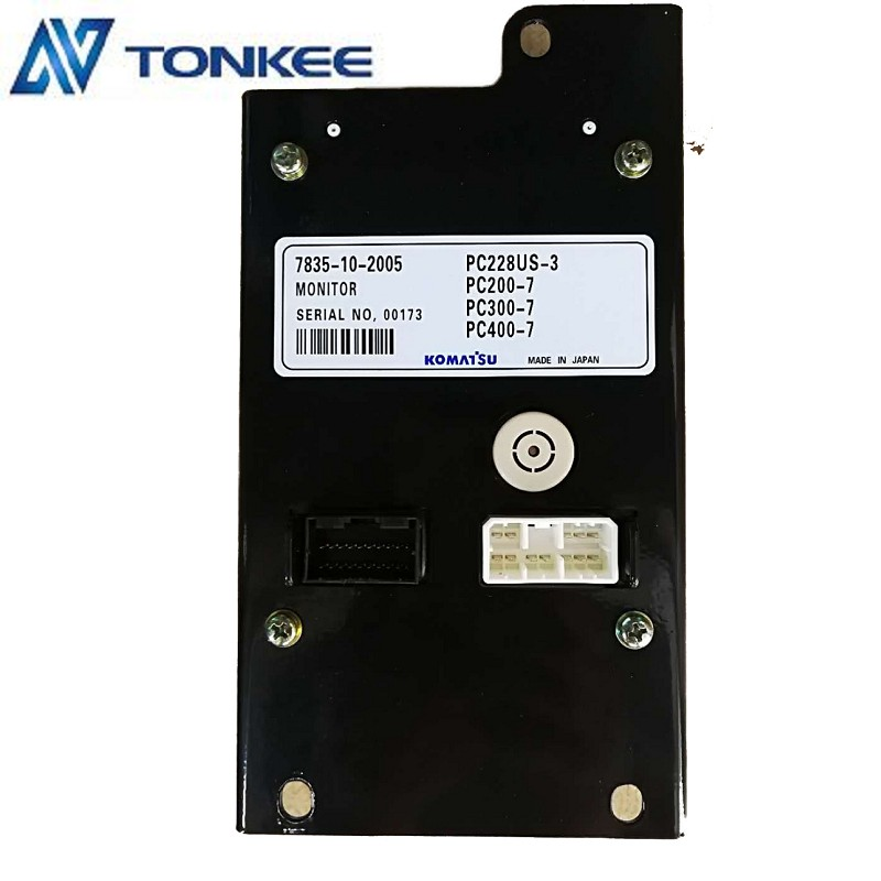 7835-10-2005 Monitor for KOMATSU PC228US-3 PC200-7 PC300-7 PC400-7 Made in Japan