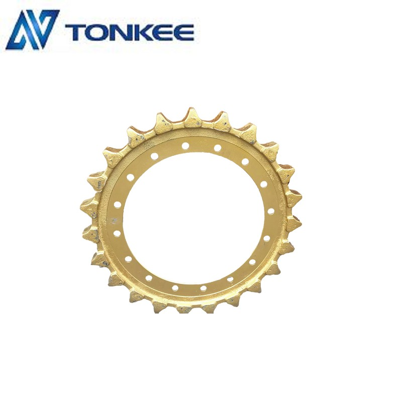 Undercarriage parts E340 drive sprocket wheel with Tyrant gold