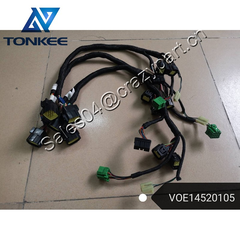 Excavator EC135B EC140B EC160B EC180B EC210B EC240B EC290B EC330B EC360B EC460B EC700B EC700BHR Engine wire harness VOE14520102 Cable harness