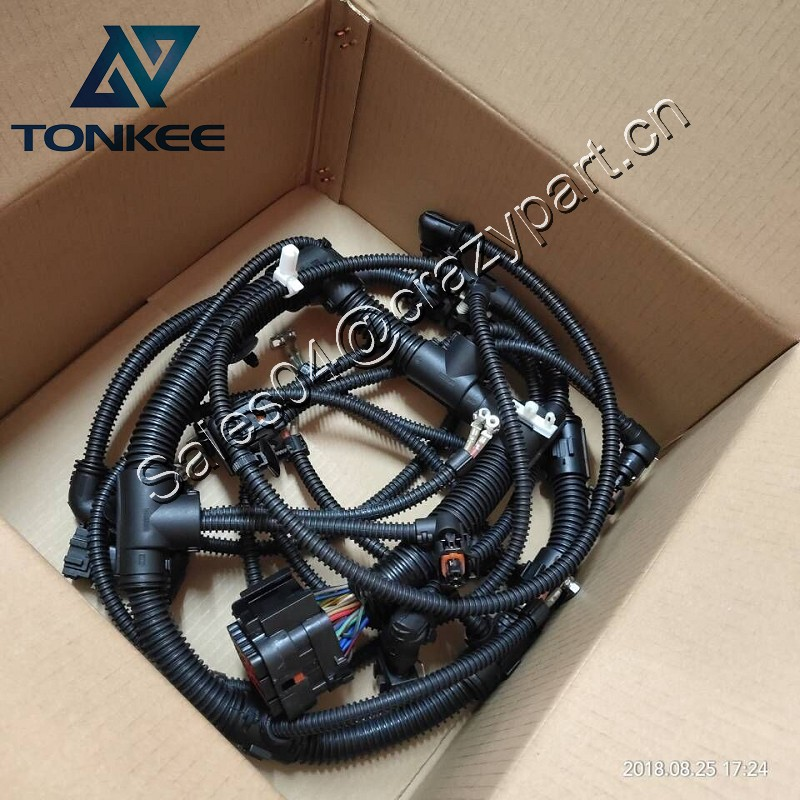 Excavator EC290 EC290B wiring harness D7E Engine wire harness