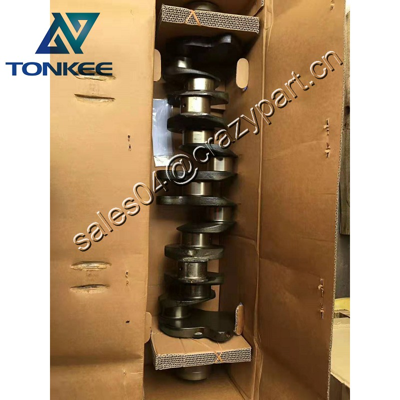 Genuine New 6HK1 DI Diesel Engine crankshaft 8-97603004-0 ZAX330 ZX330 Excavator crankshaft assy
